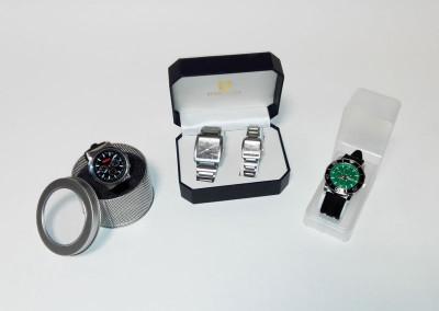 Relojes pulsera Mahou, Carlsberg y Nordic Mist
