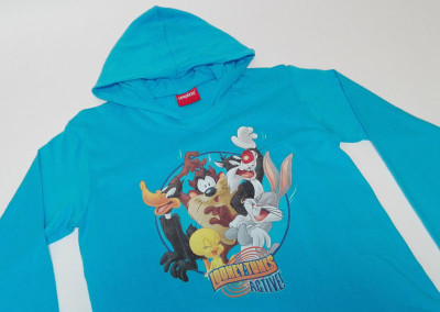 T-shirt Looney Toones Telepizza