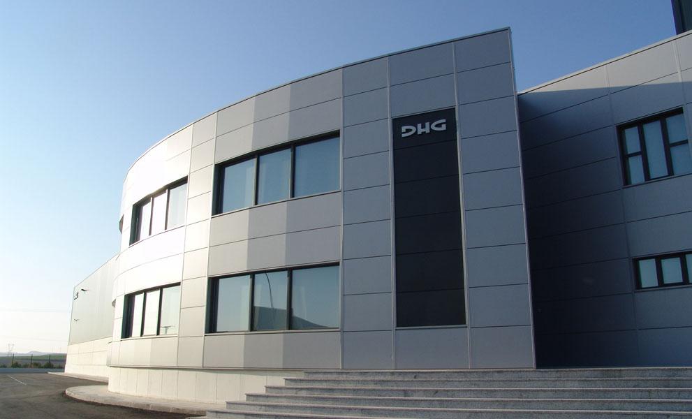 Façade of DHG