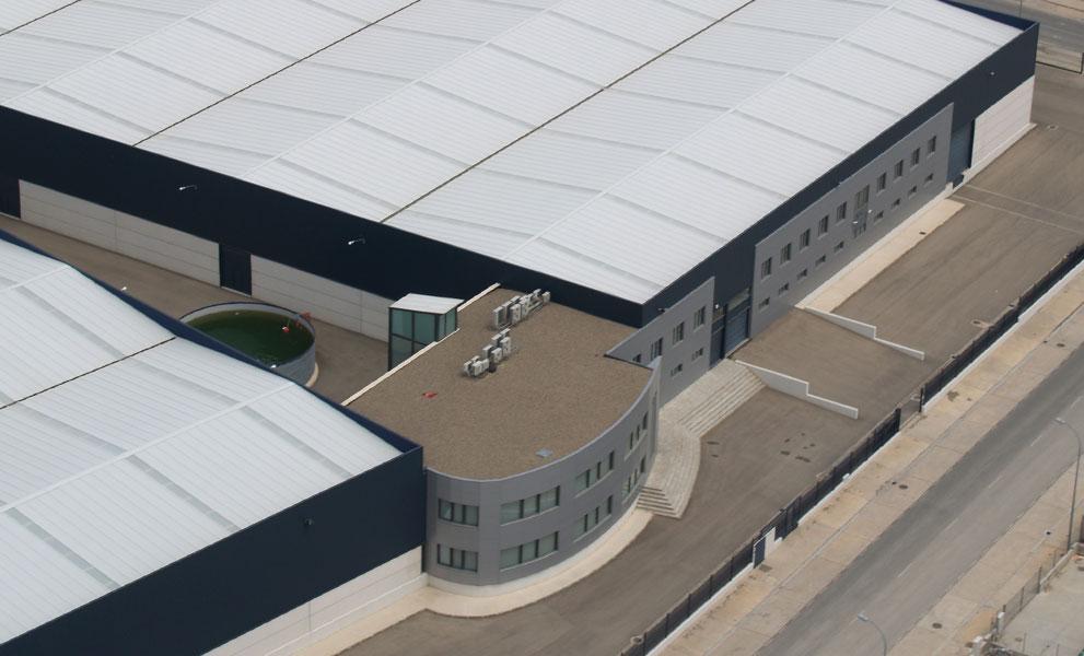 Vista aérea de DHG