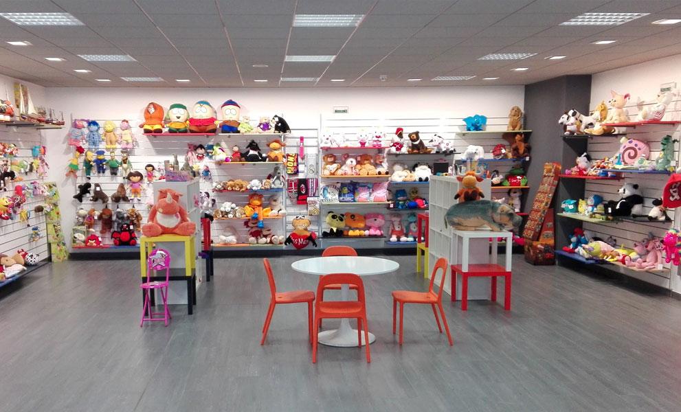 Toys showroom